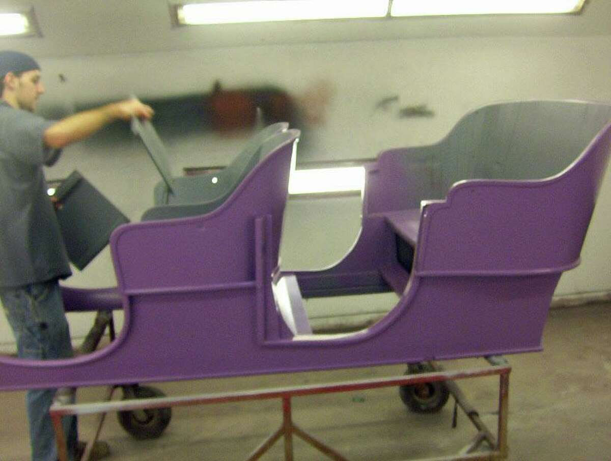 Getting the car ready for bodywork from the carriage up.