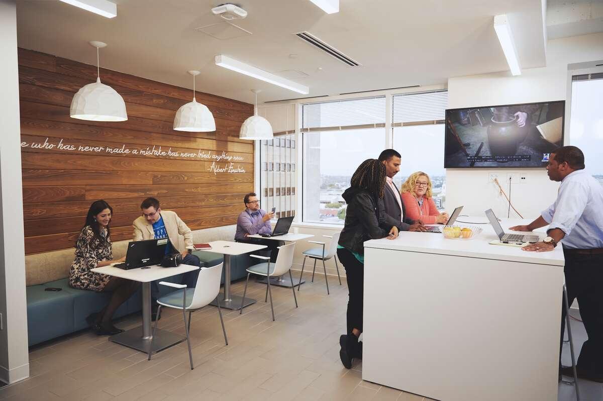 Booz Allen Hamilton's Weston Centre offices in downtown San Antonio.