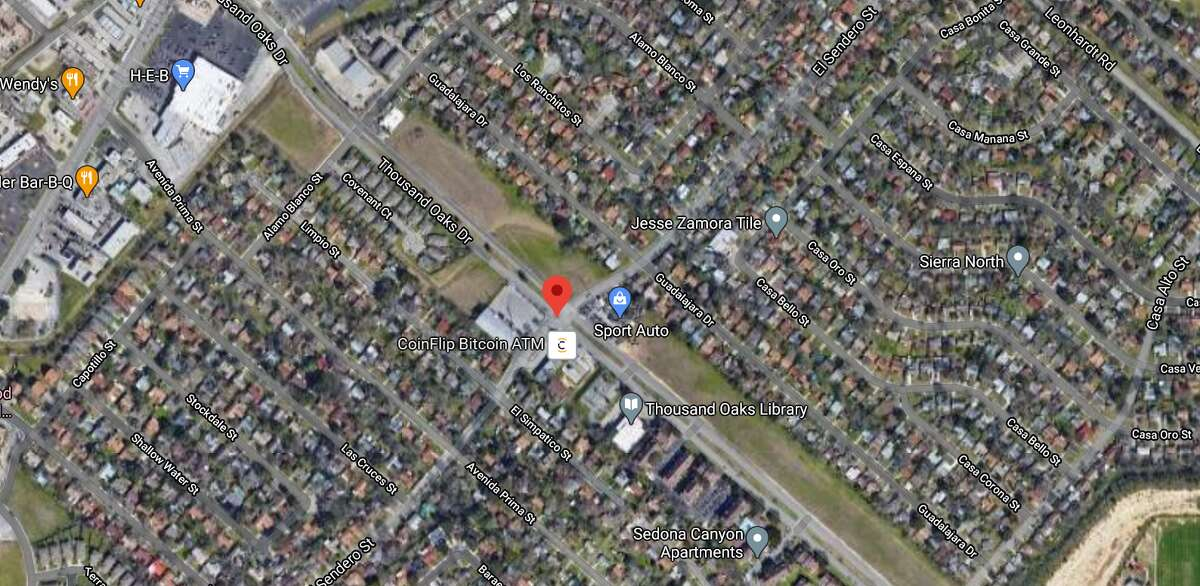One man is dead after a two-vehicle accident in the 4600 block of Thousand Oaks Sunday afternoon. The map shows the approximate location of the incident.
