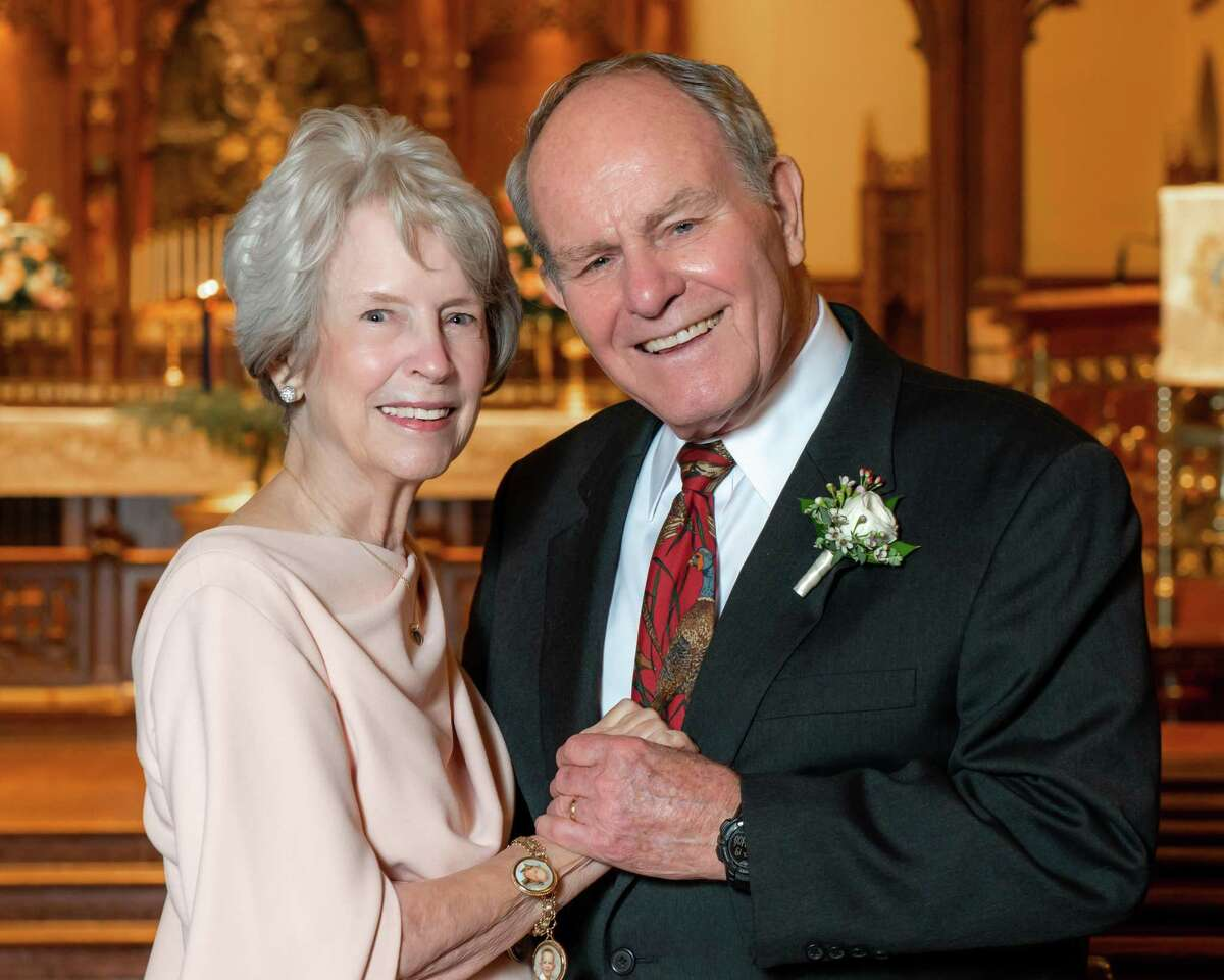 Ann Neyland, 77, and Jack Hurt, 84, met at the west Houston life care community The Buckingham, started dating and got married on Dec. 19, 2020.