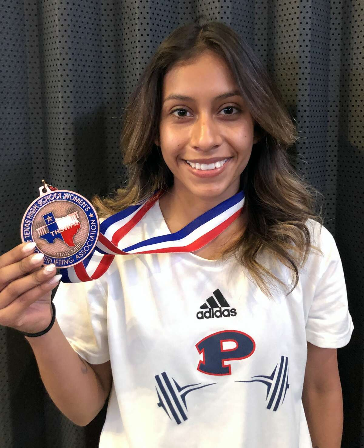 Claudia Ramirez finished fourth in the 97-pound weight class of the Texas High School State Women's Powerlifting Association state tournament over the weekend.