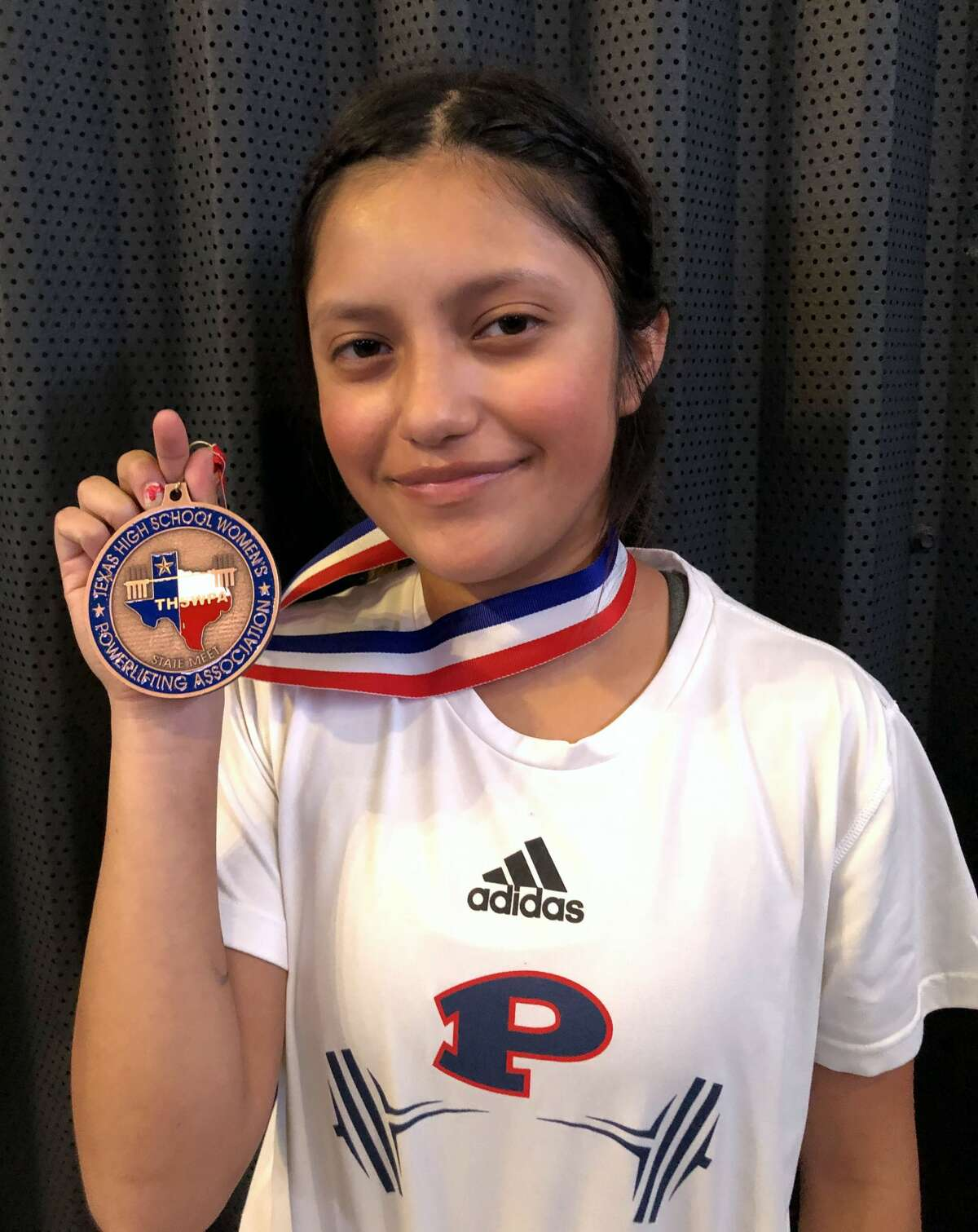 Evelyn Garcia took fifth in the 97-pound weight class.