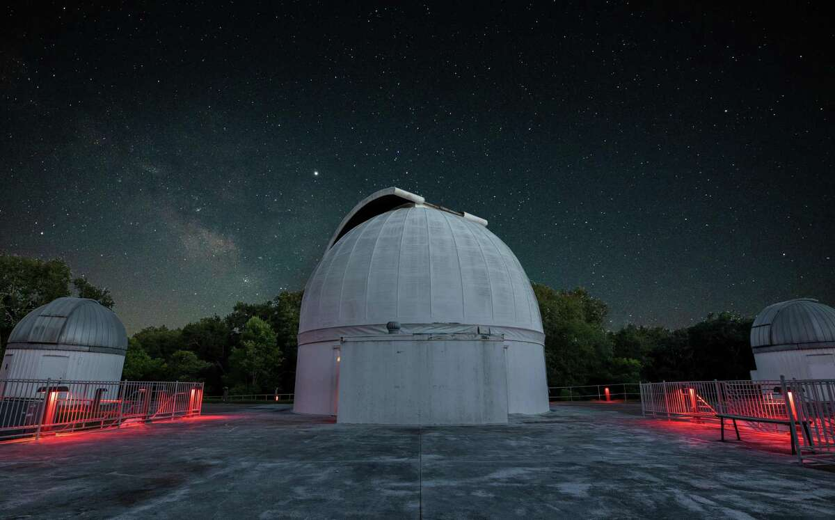 The George Observatory in Fort Bend County is open after its two-year renovation. The George opened in 1989 and began a renovation in 2019.