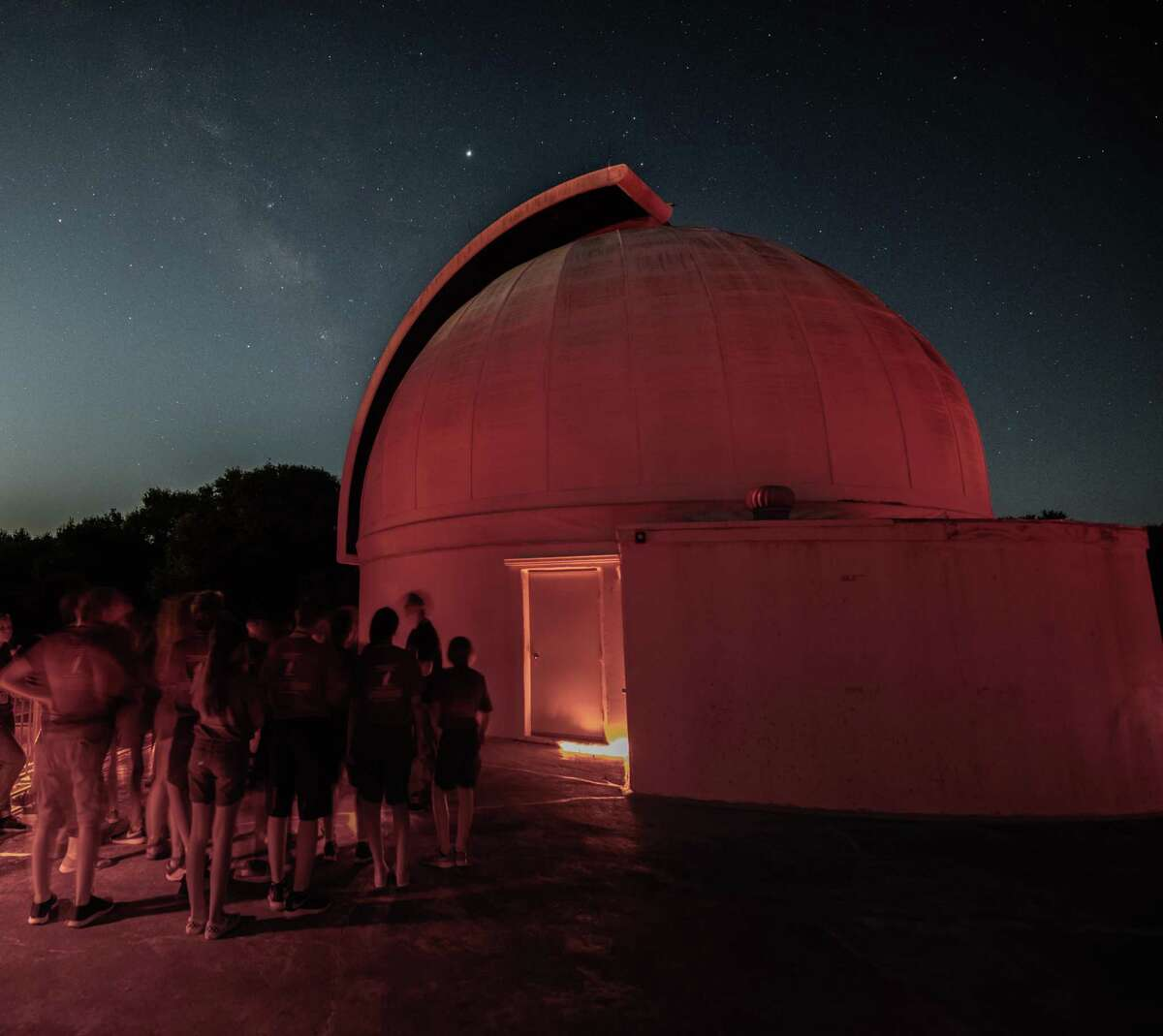 The George Observatory in Fort Bend County has reopened after a two-year renovation.