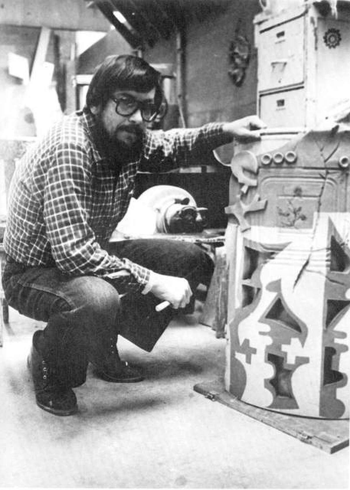 Dr. Peter Slavish, a beloved art Blackburn College art professor who died in 1996, is being remembered by Carl and Cynda Zeidler with a $500,000 pledge to the school, creating the Peter Slavish Endowed Professorship in Art at Blackburn College.