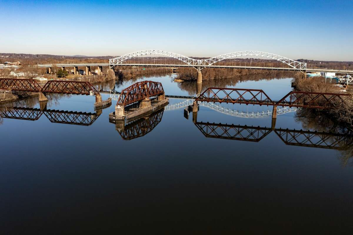 The Connecticut River in Middletown on March 21, 2021.