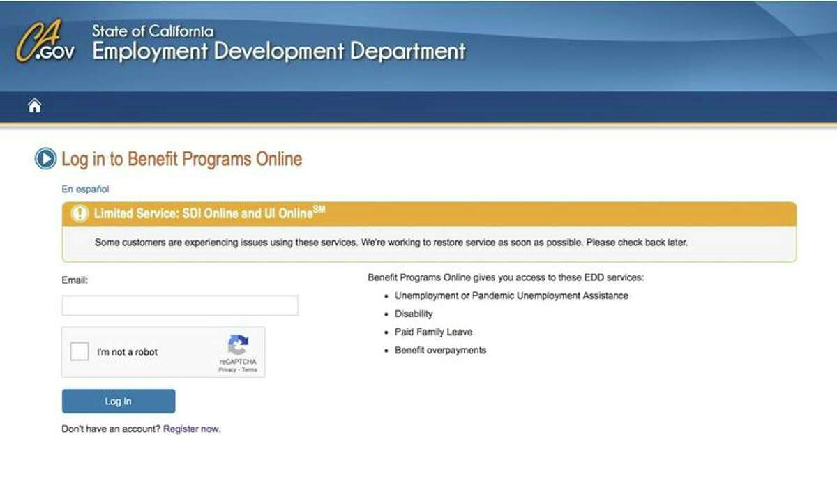 Thousands of jobless people were unable to certify their claims on the EDD website over the weekend.