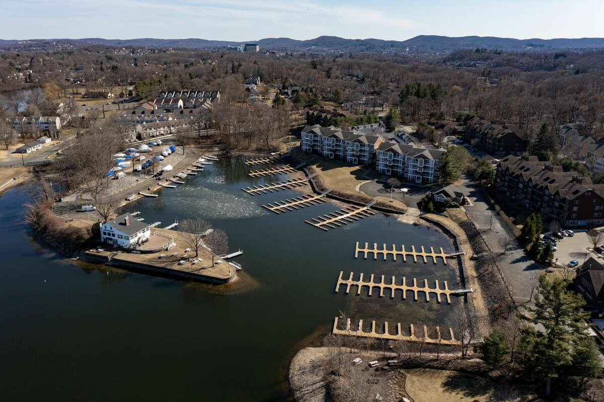 Candlewood Lake in Danbury on March 21, 2021.