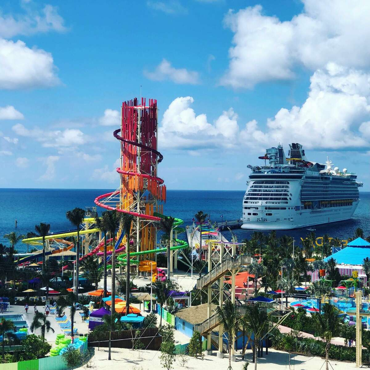 Perfect Day at CocoCay, Royal Caribbean's private island in The Bahamas.
