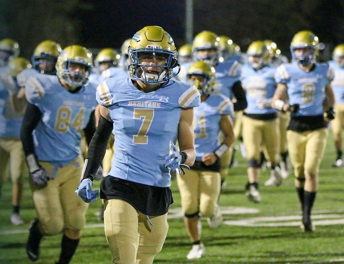 Heritage-Brentwood, off to a 2-0 start, enters this week's Chronicle top 25 rankings at No. 22.