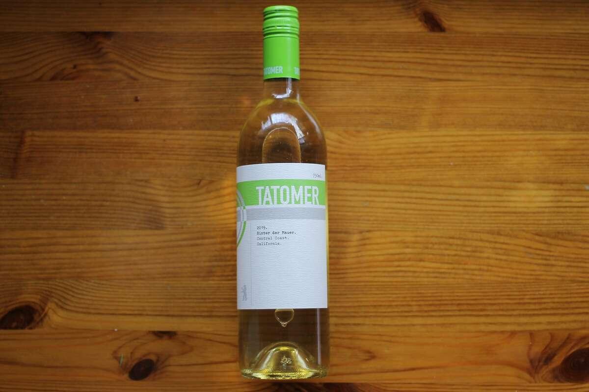 Tatomer's Hinter de Mauer white blend ($15), which the winemaker calls his COVID cuvee.
