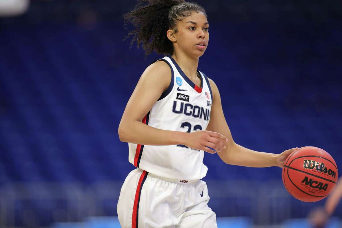UConn's Evin Westrook is a candidate to replace Nika Muhl in the starting lineup if the injured guard is unable to play.