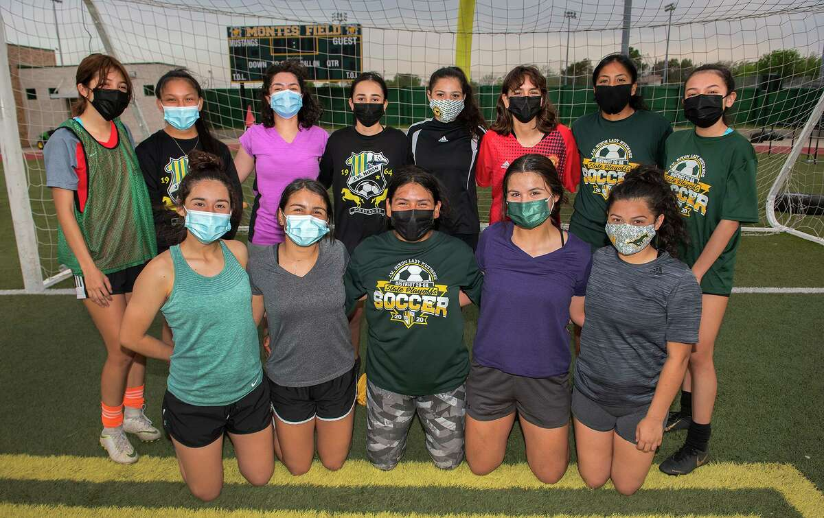 Pictured after practice Monday, the Nixon girls' soccer team beat United South 6-5 on penalty kicks Saturday to secure the final playoff spot in District 30-6A.