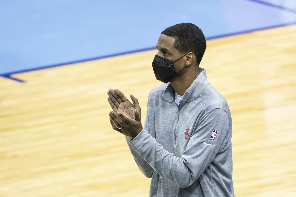 """Rockets coach Stephen Silas said he didn't want his team to forget """"the pain and the struggle and the fortitude and the toughness and the character that it takes to go through what we went through."""""""
