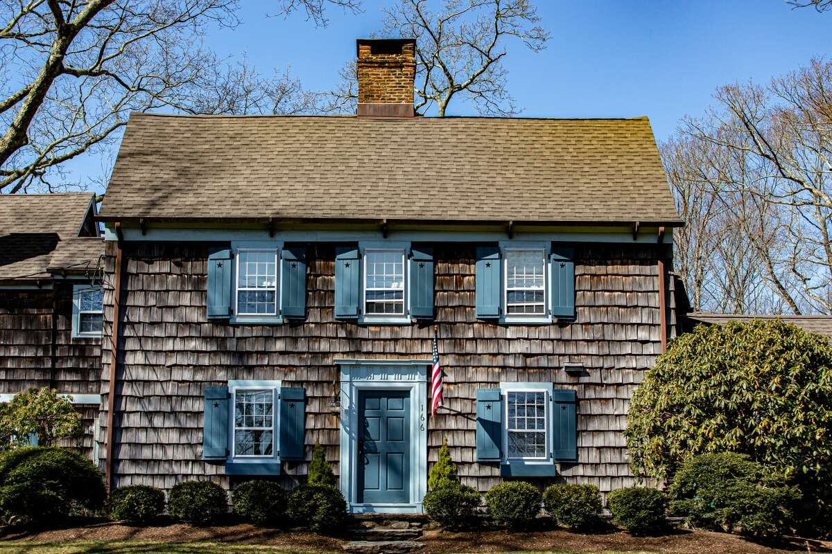 A house in Weston, Conn. on March 21, 2021