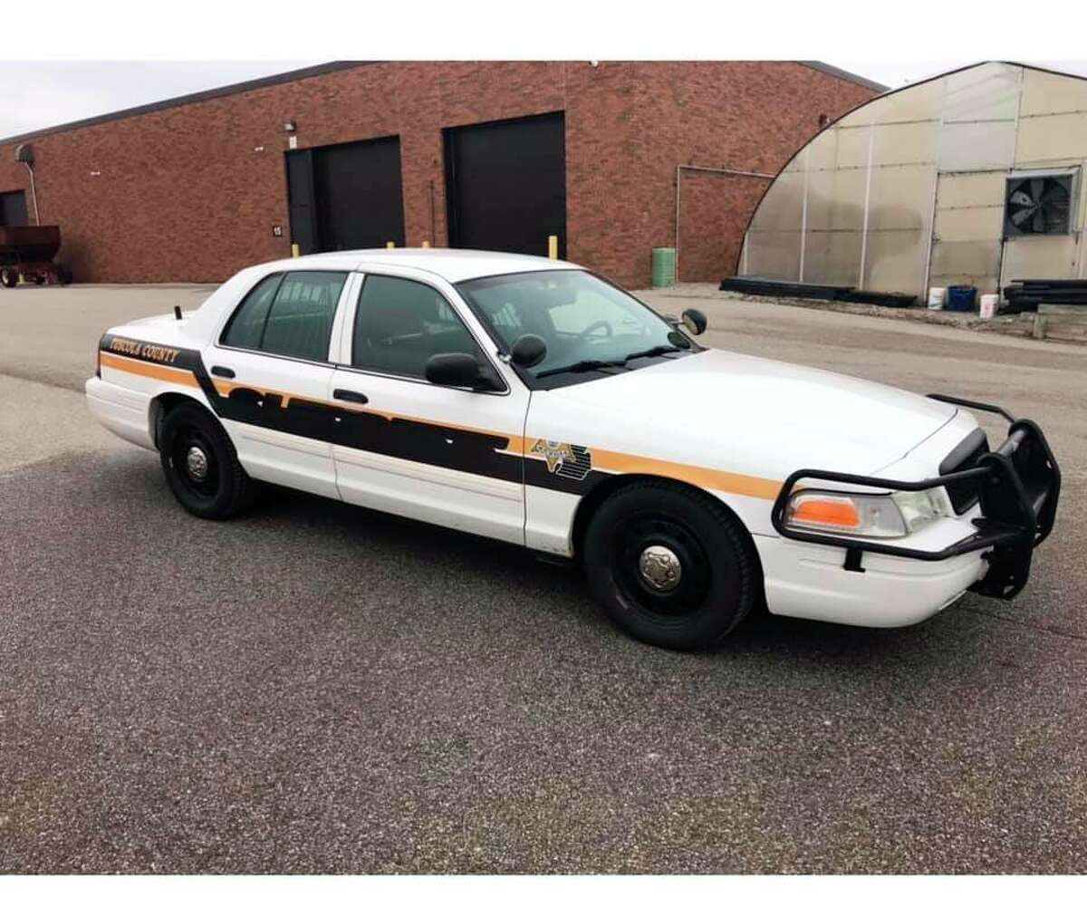The Tuscola County Sheriff's Department donated a police cruiser to the Tuscola Tech Center's law enforcement program. Students will use the vehicle for training. (Courtesy Photo)