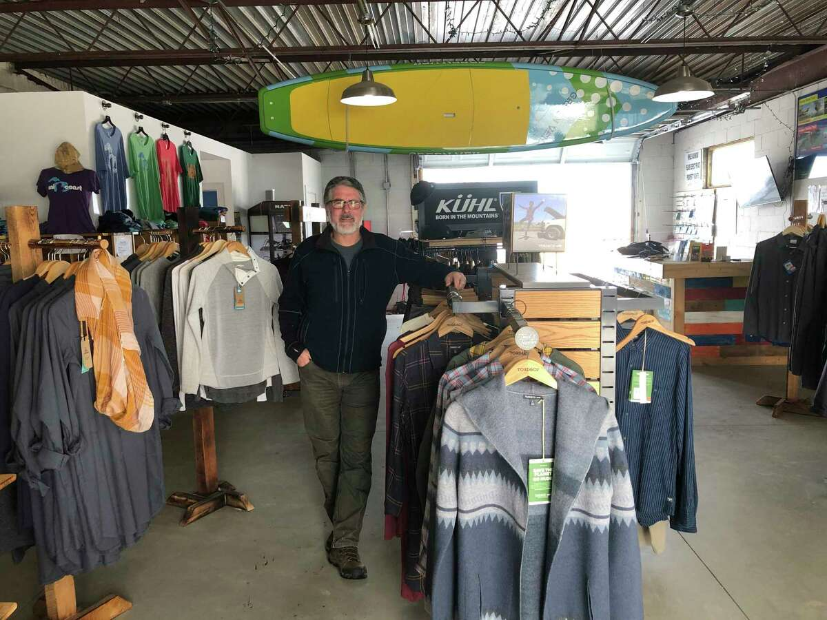 Chris Boyle, the owner of Port Austin Kayak and Pak's Backyard. Boyle has run Port Austin Kayak since 2006, having it grow out of a hobby of his. (Courtesy Photo/Chris Boyle)