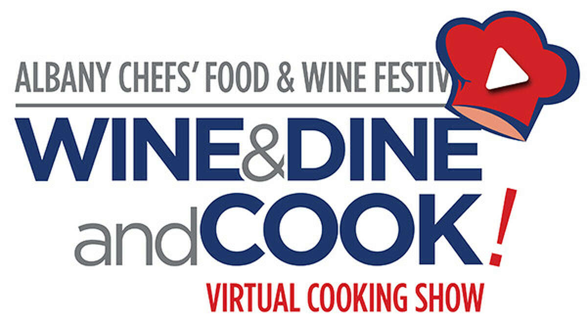 The logo for the new Wine & Dine and COOK! series, a new fundraiser for the Wine & Dine for the Arts n ot-for-profit.