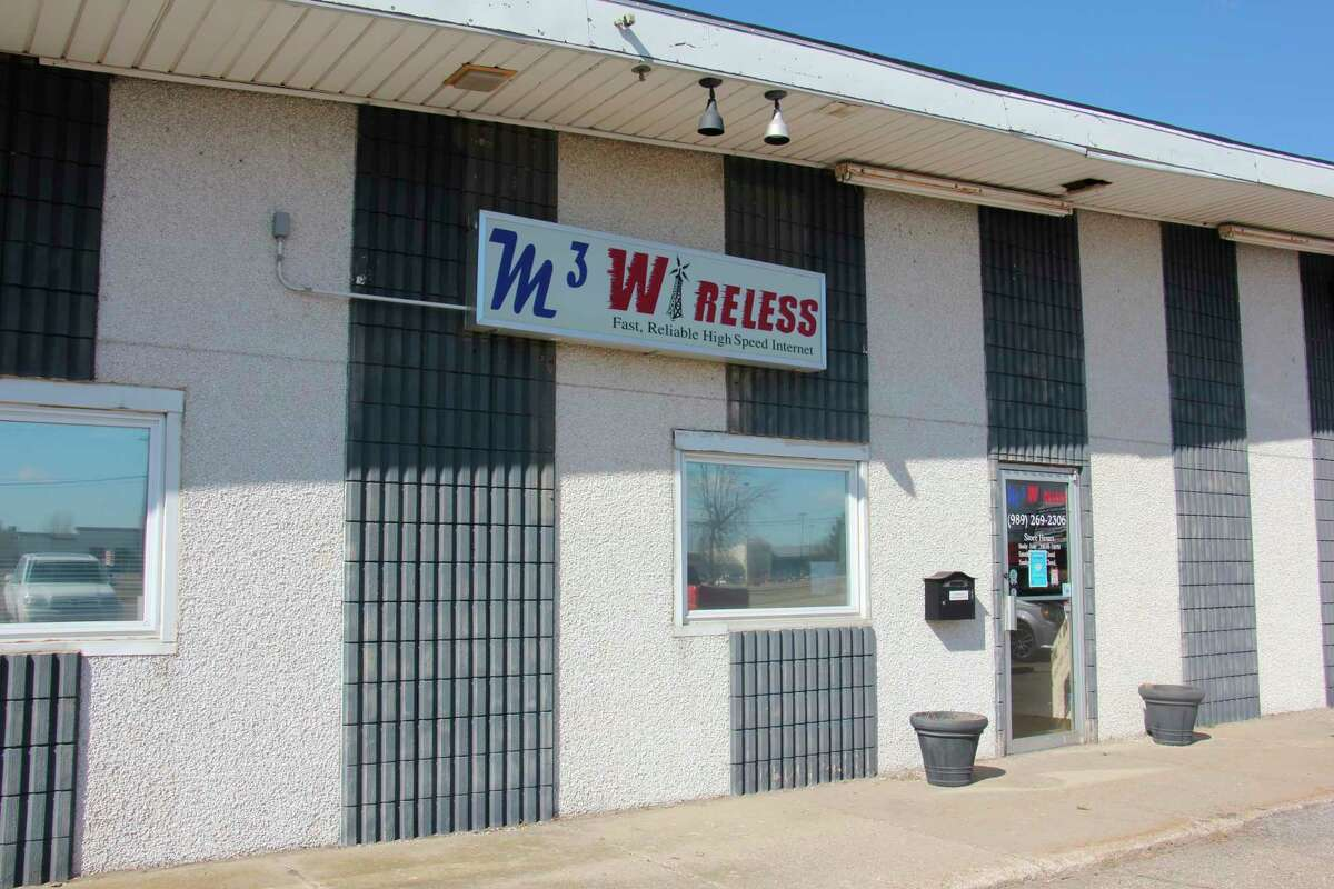 Currently, M3 Wireless brings internet to its customers from Midland, Saginaw, Southfield, and Chicago, providing services locallythat otherwise wouldn't be available. (Paige Withey/Huron Daily Tribune)