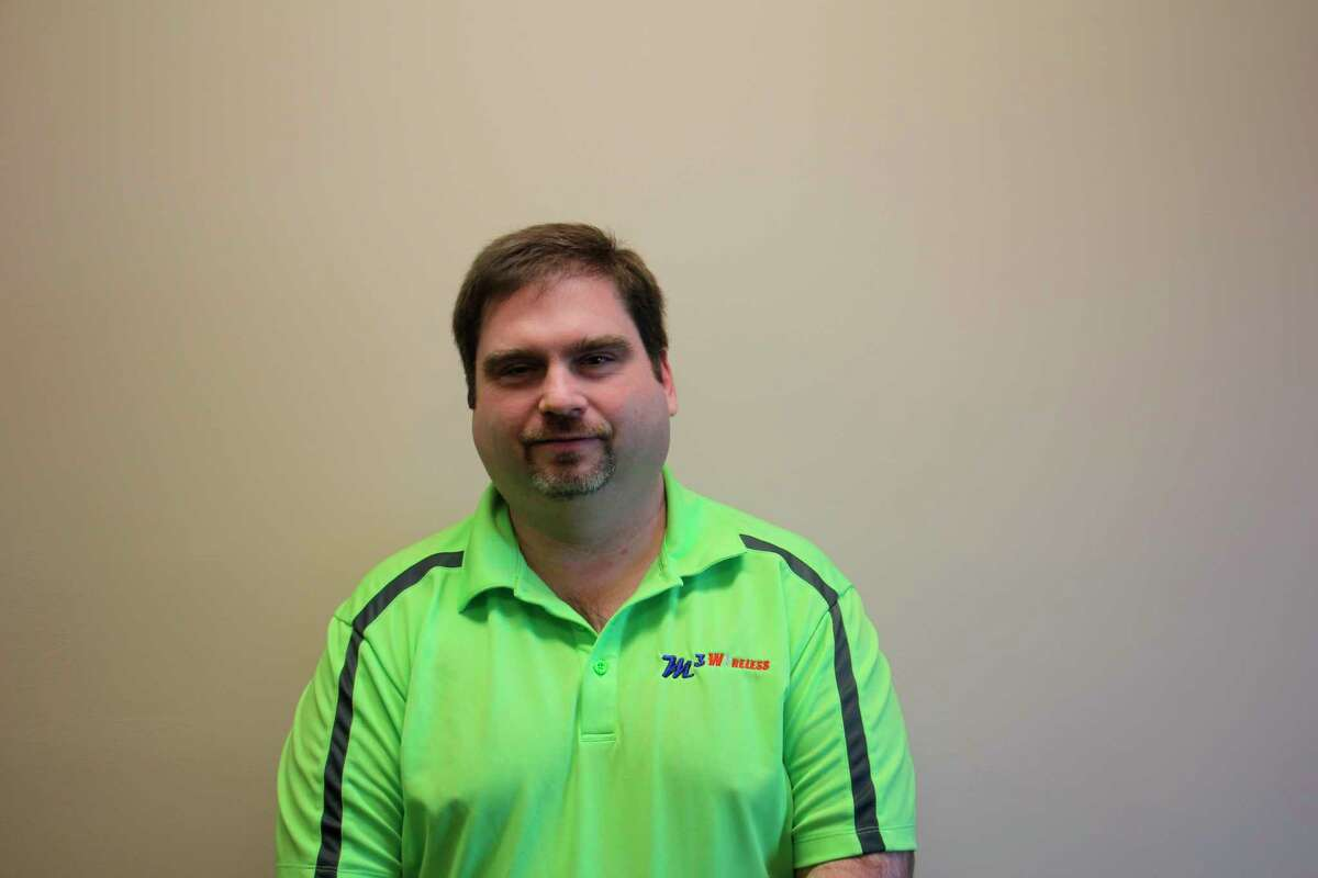 Brian King, owner of M3 Wireless, takes pride in having a local team providing local service to their Thumb customers. (Paige Withey/Huron Daily Tribune)