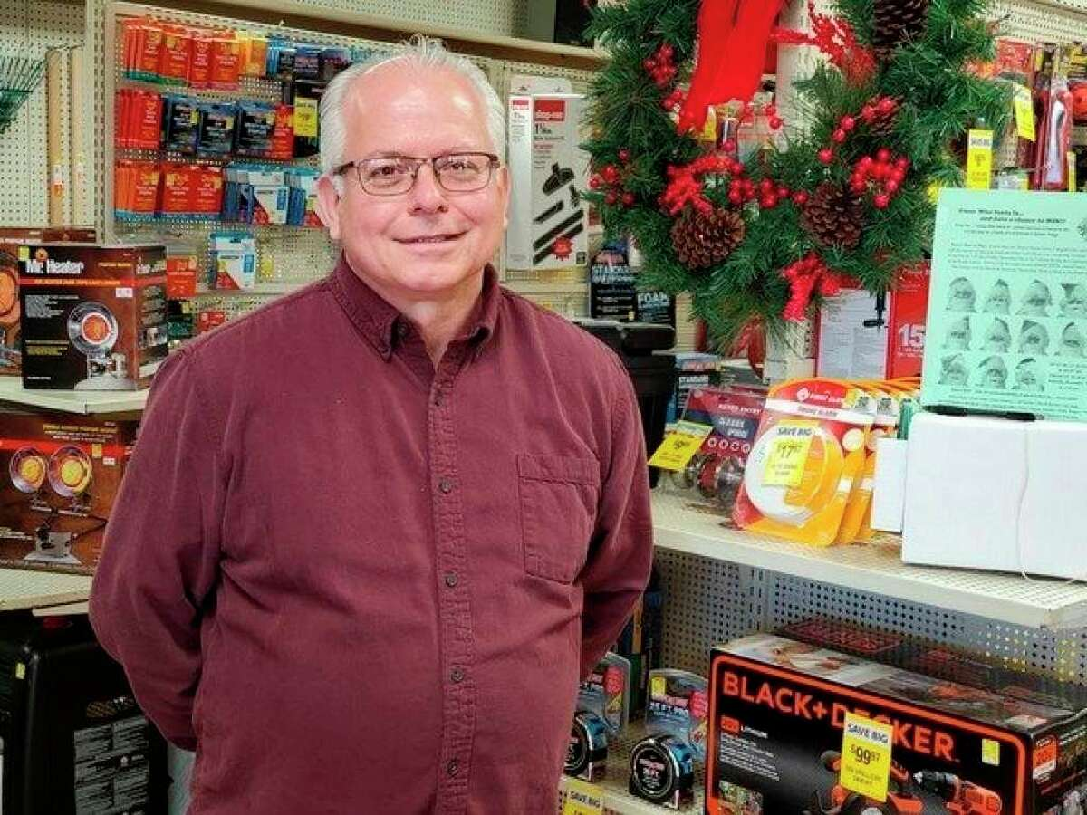 Thumb Hardware & Appliance Owner Dennis Ropp said he was humbled to own a business that was declared essential. (Tribune File Photo)