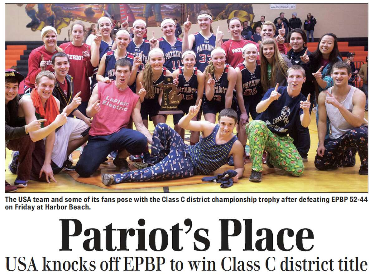 For this week's Tribune Throwback we do a shallow dive in the archives and look back to March 2013.