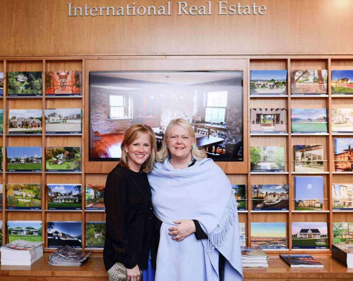 Robin Conner, left, succeeds Marilyn Thompson as the new president of Martha Turner Sotheby's International Realty.