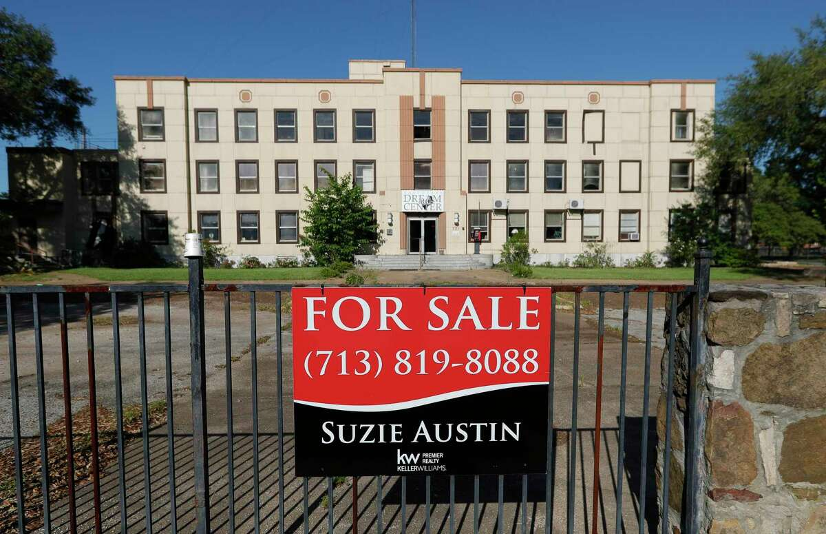 The East Texas Dream Center building is seen, Wednesday, May 6, 2020, in Conroe. A Kansas City based company is hoping to redevelop the property into senior living apartments.