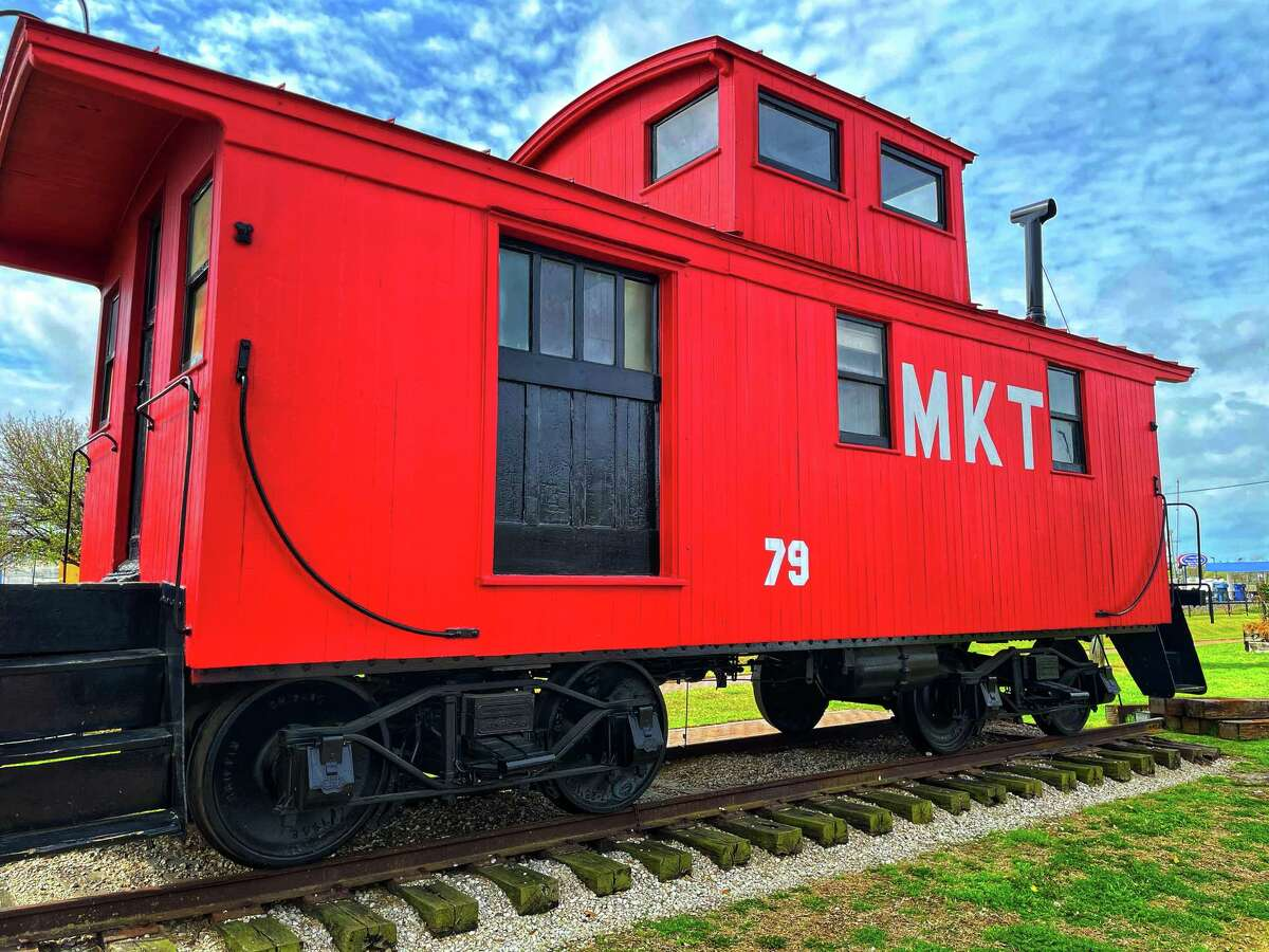 The Katy M-K-T train on March 22, 2021.