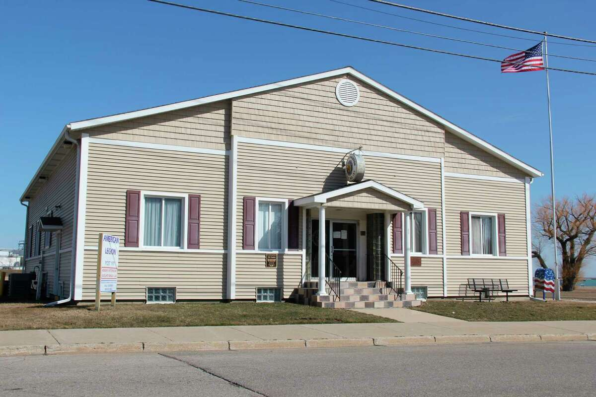 The American Legion Hall in Harbor Beach, which will host a COVID-19 vaccination clinic on Thursday. (Robert Creenan/Huron Daily Tribune)