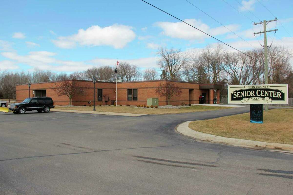 The Huron County Senior Center in Bad Axe. The center has a tentative reopening date of May 1, having been closed the majority of 2020 due to COVID-19. (Tribune File Photo)