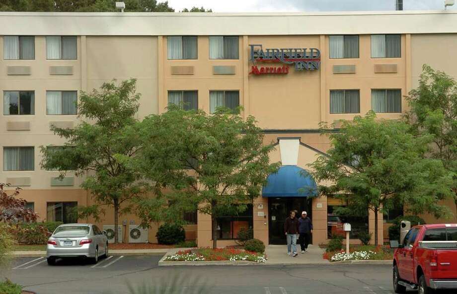 """A view of the Fairfield Inn by Marriott in Milford, Conn. on Thursday September 9, 2010. It has been given and facelift and """"rebranding"""" and now caters to upscale business guests. Photo: Christian Abraham / Connecticut Post"""
