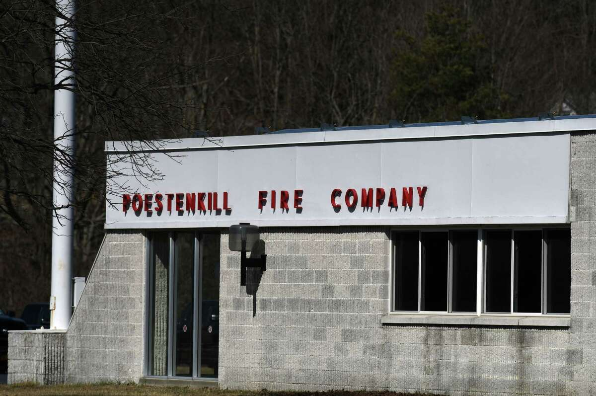 The Poestenkill Fire Department where Poestenkill Ambulance Service once was based on Tuesday, March 23, 2021, in Poestenkill, N.Y. Supervisor Hammond is leading the fight to create an ambulance district to fund ambulance service. A vote will be held on March 30. Creating the district will allow the town to have mutual aid with the neighboring districts that can't under state law until there is a district. (Will Waldron/Times Union)