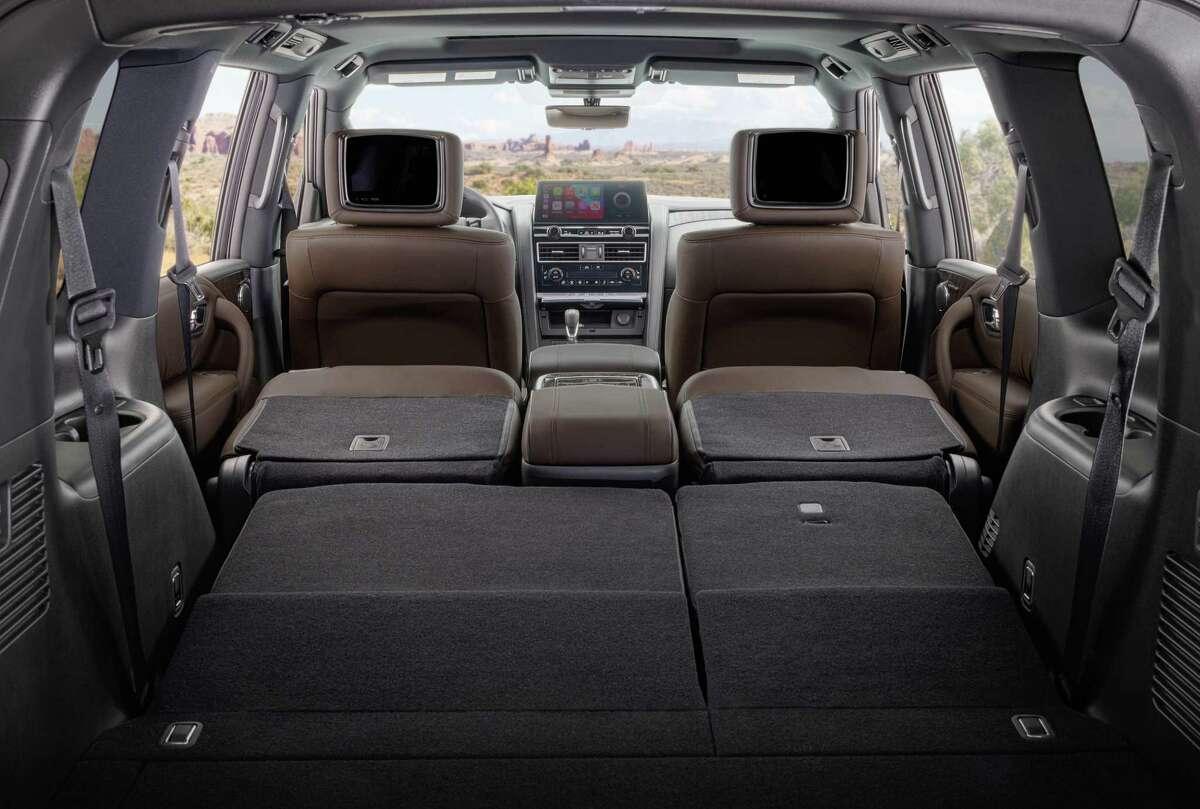 The 2021 Nissan Armada has a 13 mpg city, 18 highway fuel economy.