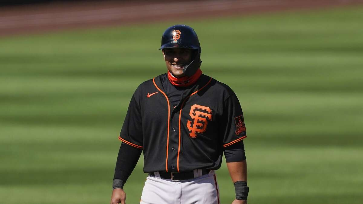 Donovan Solano hit one of the Giants' four home runs Tuesday and is batting .464 this spring.