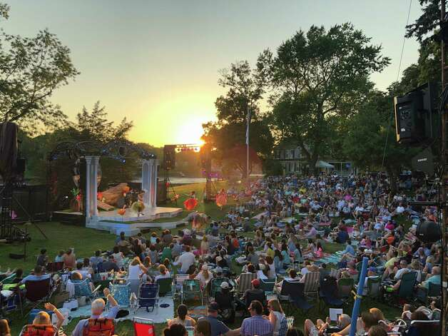 A Midsummer Night's Dream, Rowayton Shakespeare on the Sound returns to Pinkney Park for it's 25th anniversary production of A Midsummer Night's Dream. Performances run through July 3. Find out more. Photo: Shakespeare On The Sound