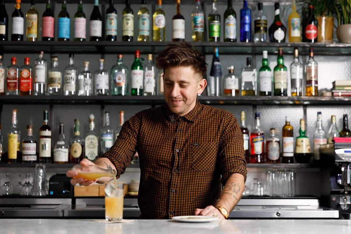 Nicolas Torres of True Laurel is one of the bartenders behind the new spot Buddy.