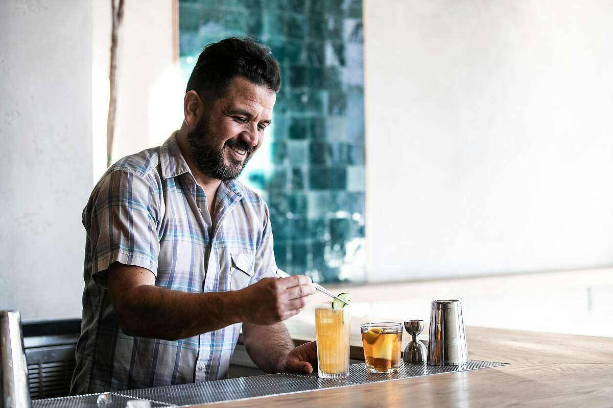 Alvaro Rojas, co-owner of Elda bar in the Mission, is one of the bartenders behind Buddy.