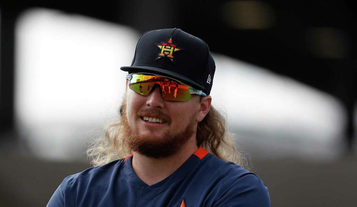 Ryne Stanek appears to have found a spot in Houston's bullpen to start the season.