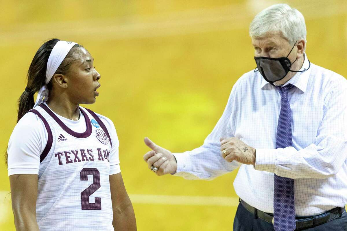 Texas A&M's closer than expected win over Troy was a wakeup call for guard Aaliyah Wilson and coach Gary Blair.