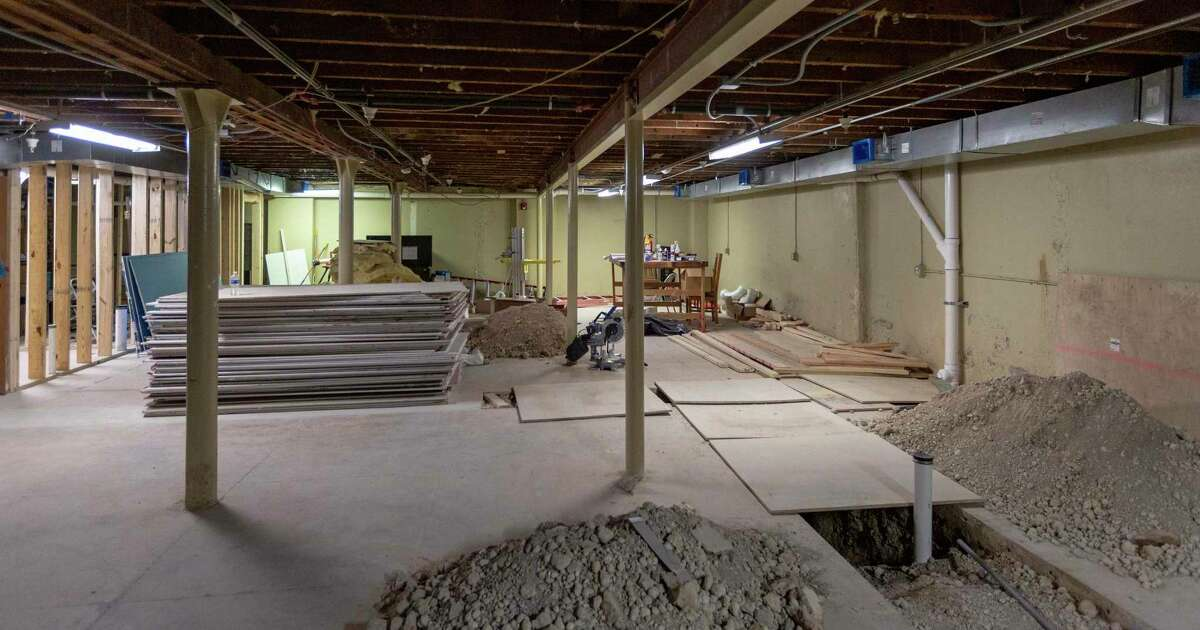 The basement of the Best Western Plus Sunset Suites at 1103 East Commerce St., seen Wednesday, March 17, 2021, is undergoing a $5 million renovation which will include, among other things, a speakeasy-type bar in the basement where an actual speakeasy once operated.
