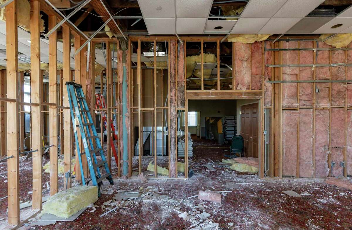 The second-floor meeting spaces also are undergoing a renovation. The revamp will add a fifth floor to the four-story hotel, increasing the number of rooms to 79 from 64.