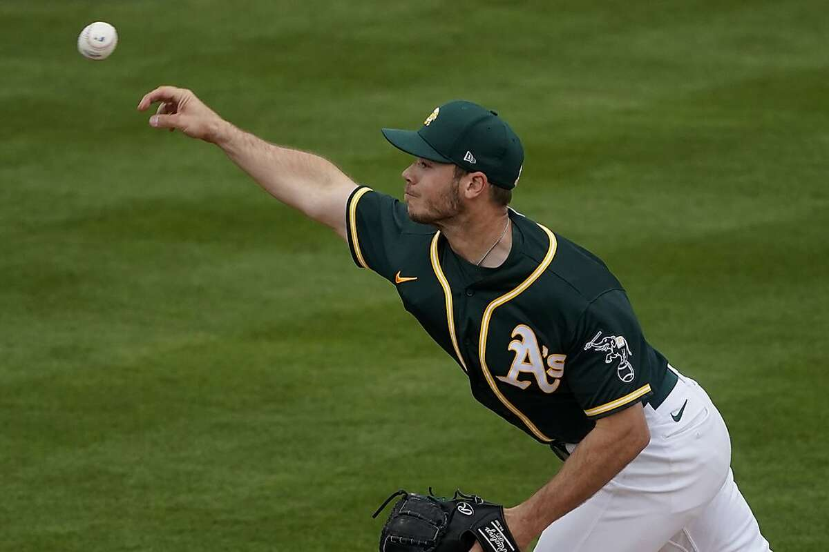 Oakland Athletics starting pitcher Daulton Jefferies worked four scoreless innings Tuesday against a Rockies lineup stacked with left-handers and regulars, bolstering his case for a major-league role.