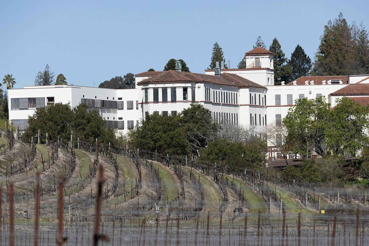 The Yountville Veterans Home, the scene of a triple murder and suicide in 2018 was locked down after a report of a woman with a gun on Monday, March 23, 2021 in Yountville, Calif.
