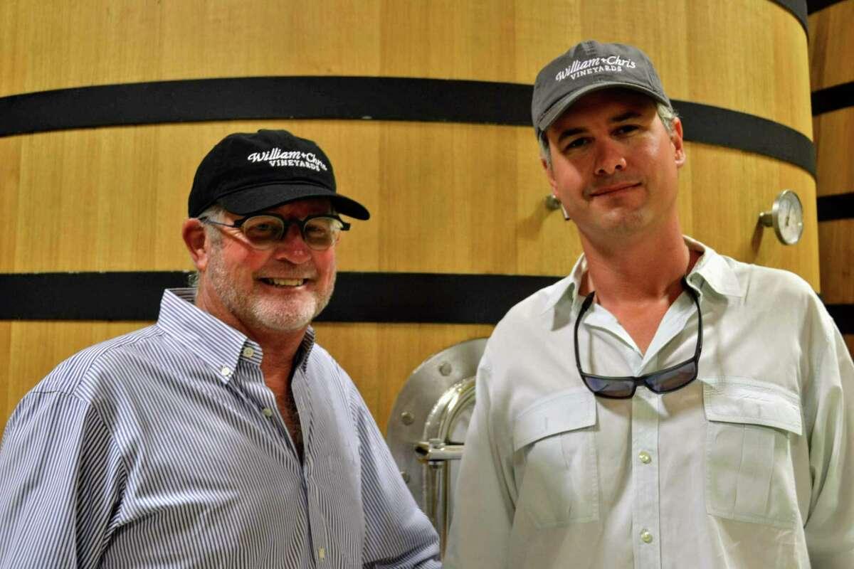 Bill Blackmon and Chris Brundrett