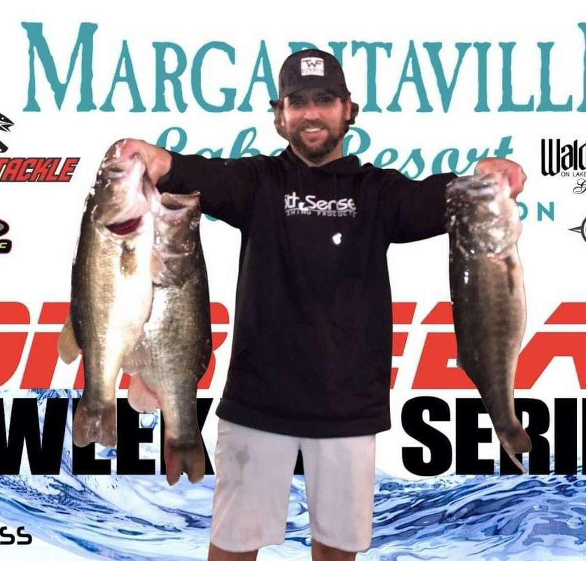 Taylor Robbins won the CONROEBASS Tuesday Tournament with a total weight of 18.26 pounds.