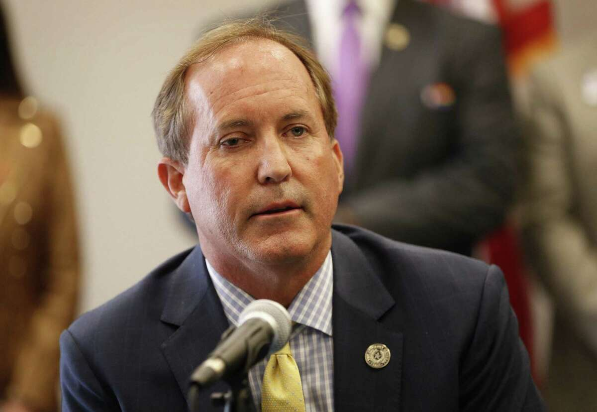 Texas Attorney General Ken Paxton sued Austin and Travis County on Thursday, arguing that continued enforcement of a local mask mandate was illegal. (Jay Janner/American-Statesman/TNS)