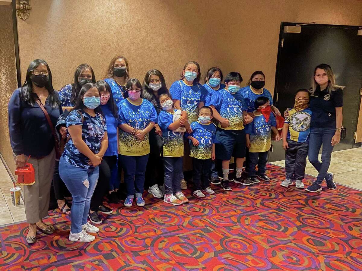 The Down Syndrome Association of Laredo hosted a movie date for about a dozen individuals and their families in honor of World Down Syndrome Day.