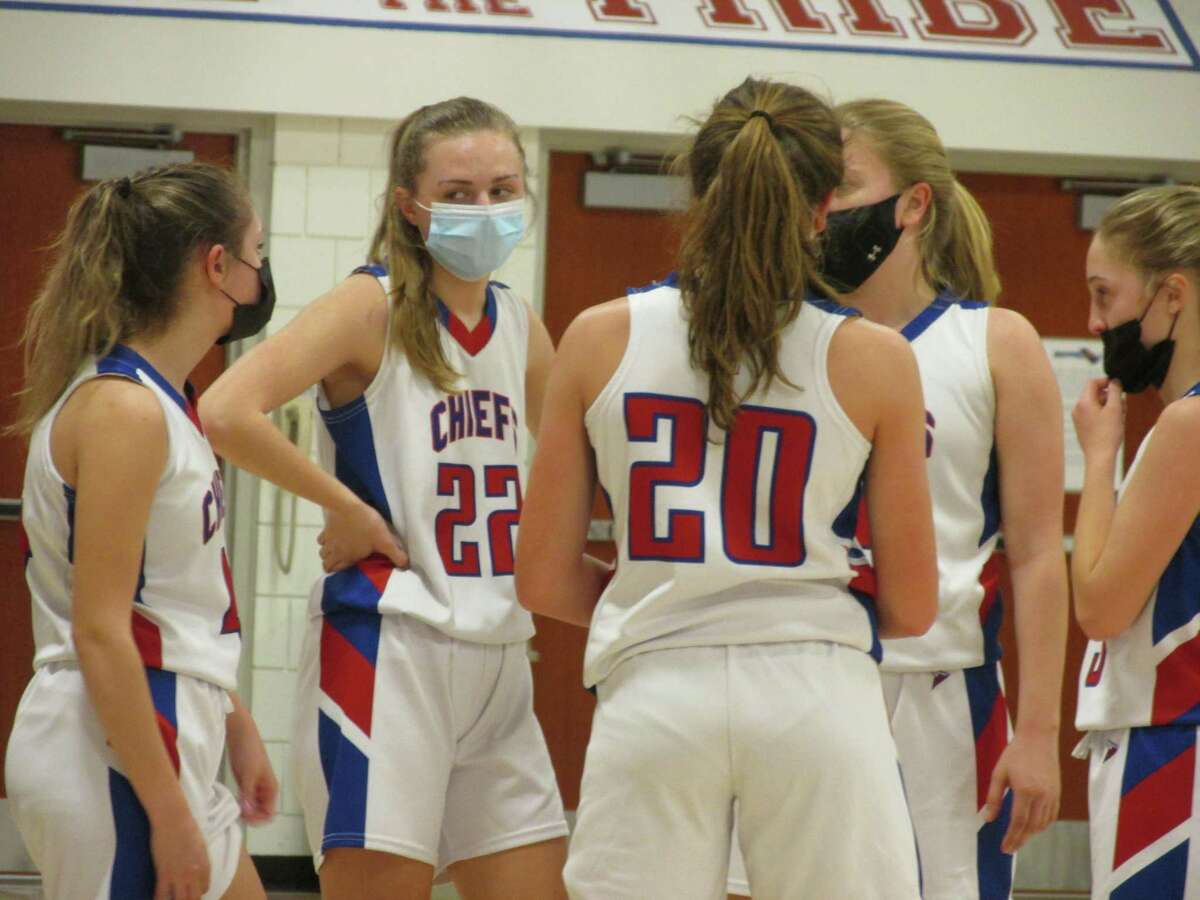 Nonnewaug's girls basketball hung on for a one-point Berkshire League Tournament semifinal win over Northwestern Tuesday afternoon at Nonnewaug High School.