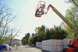 File photo of construction work at Coleytown Middle School.